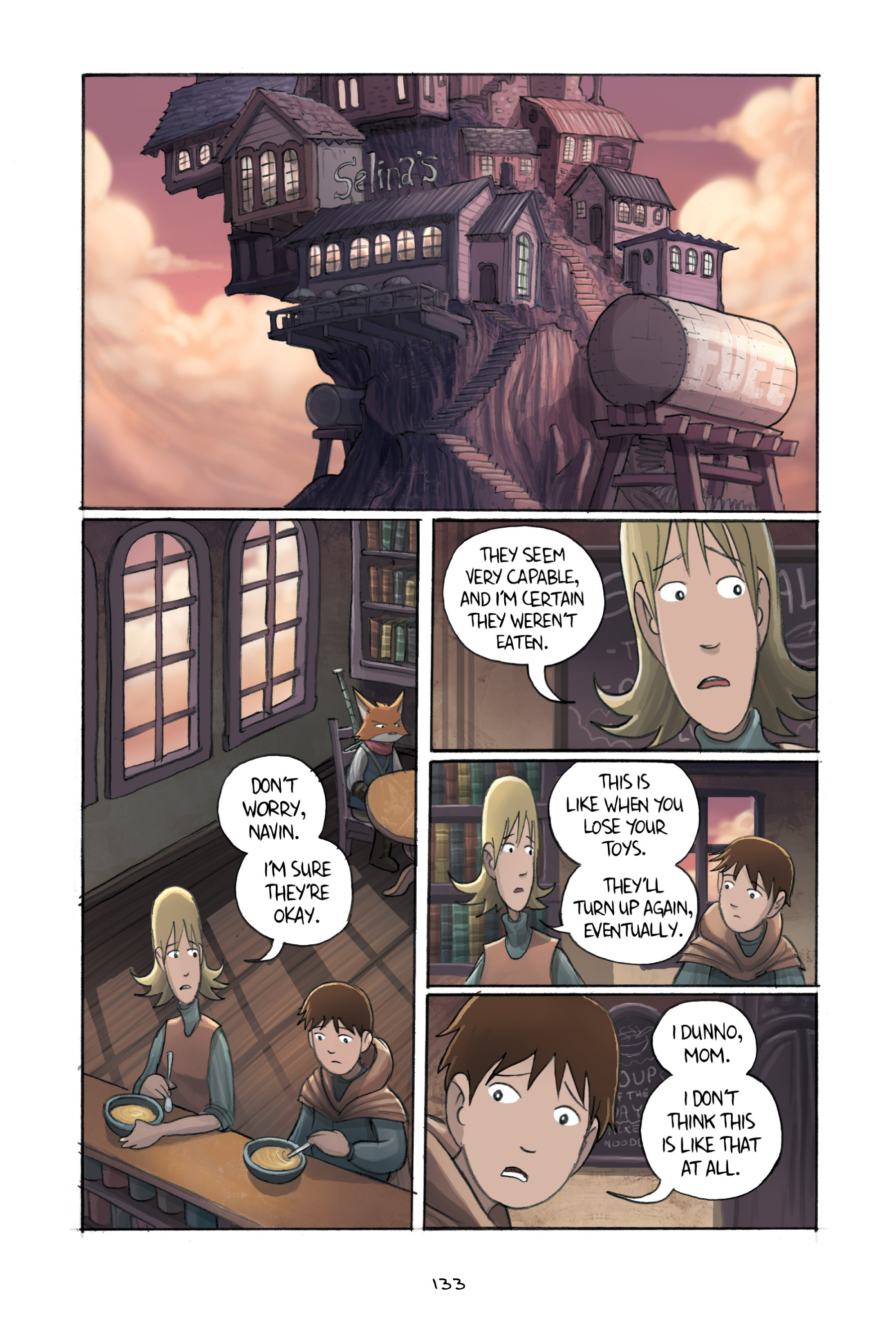 Read online Amulet comic -  Issue #3 - 130