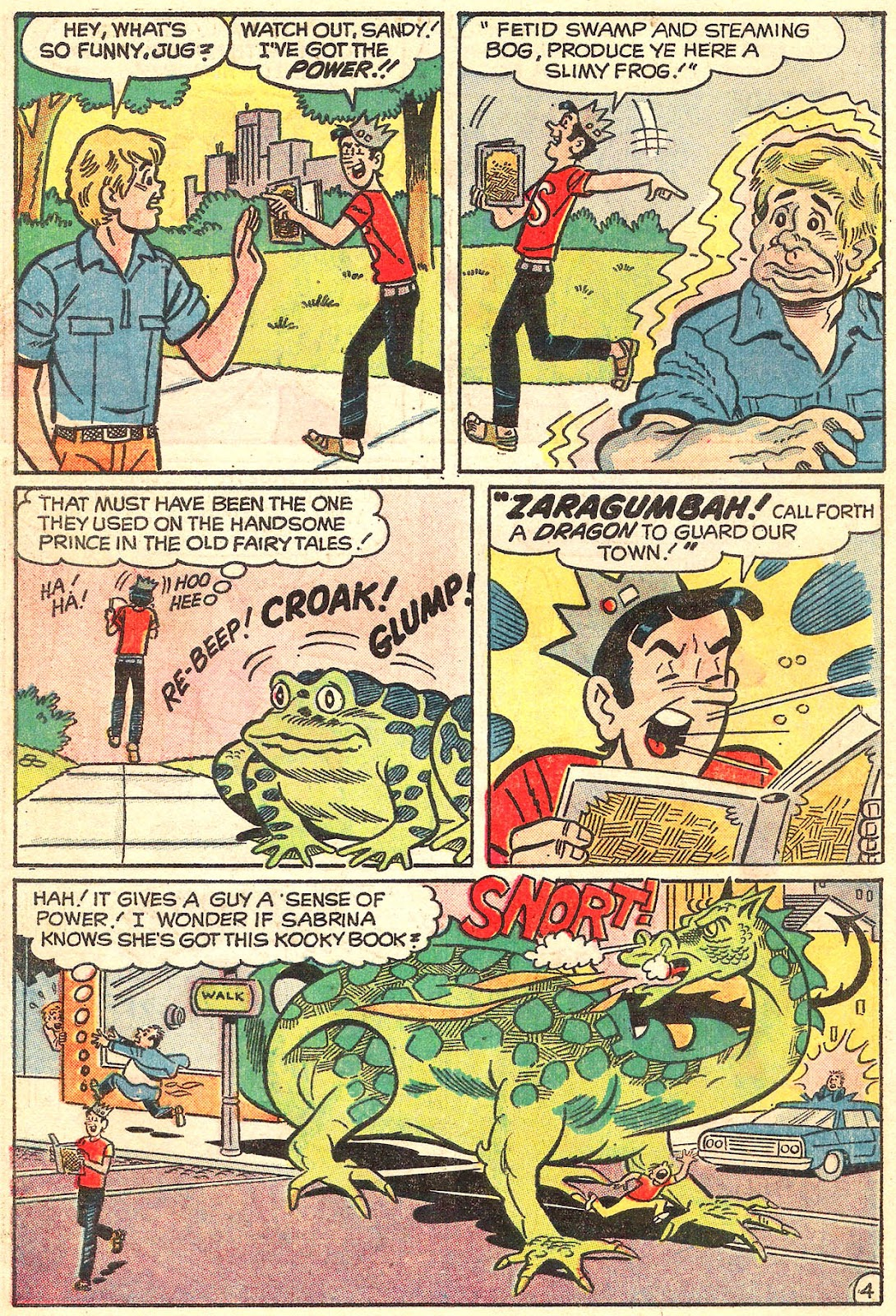 Sabrina The Teenage Witch (1971) Issue #16 #16 - English 6