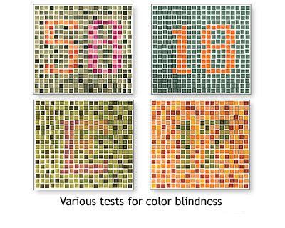 Color Blindness Test Optical Illusion