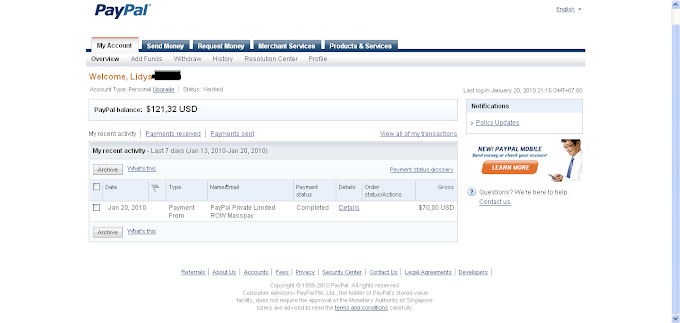 Payment Form PayPal WishList