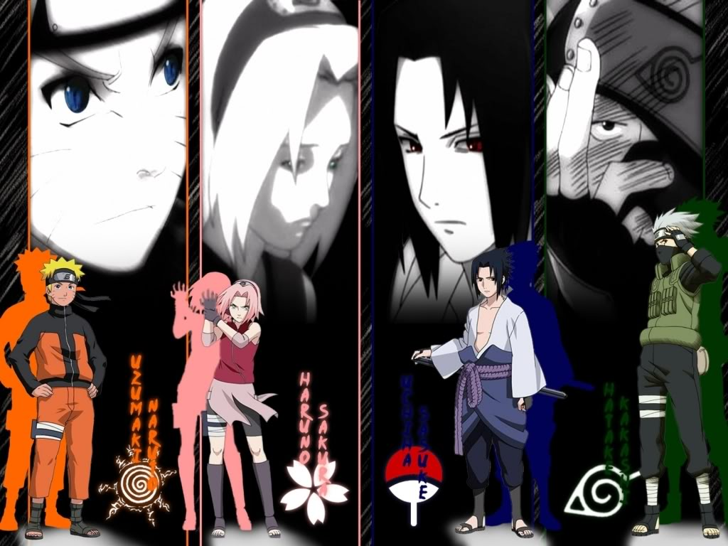 Naruto Shippuden Sasuke Team