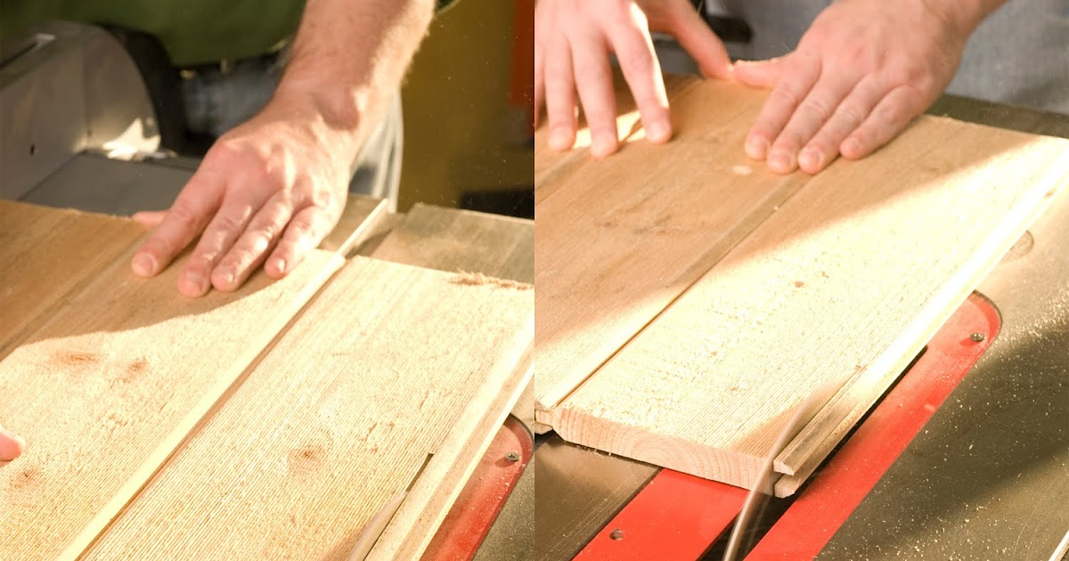 Lowe's Creative Ideas Blog: Tongue and Groove Lumber Panels
