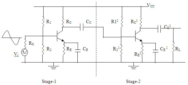 Rc Coupled Transistor Amplifier - a-k-b info