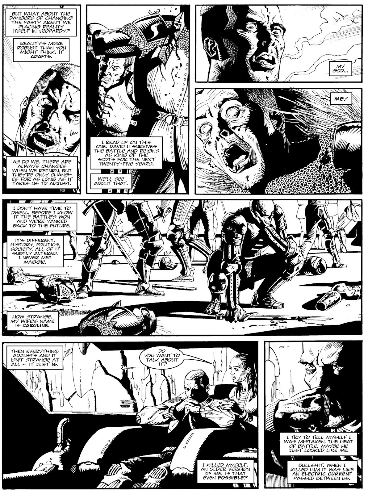 Judge Dredd Megazine (Vol. 5) issue 427 - Page 111