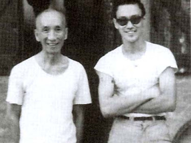Ip Man with student Bruce Lee