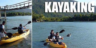 Kayaking in Baler