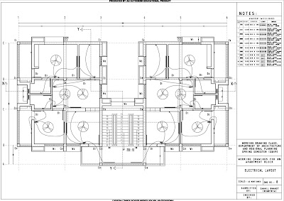 space BAR : Working Drawings & Architectural Detailing works