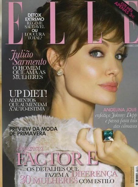 Jolie Magazine November 2017 Issue: Angelina Joile Hot Stills In Elle Magazine Cover