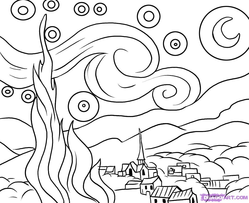 d arte mural coloring pages - photo #5