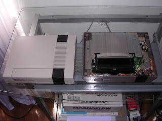Nintendo NES Top Removed
