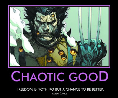 chaotic good wolverine