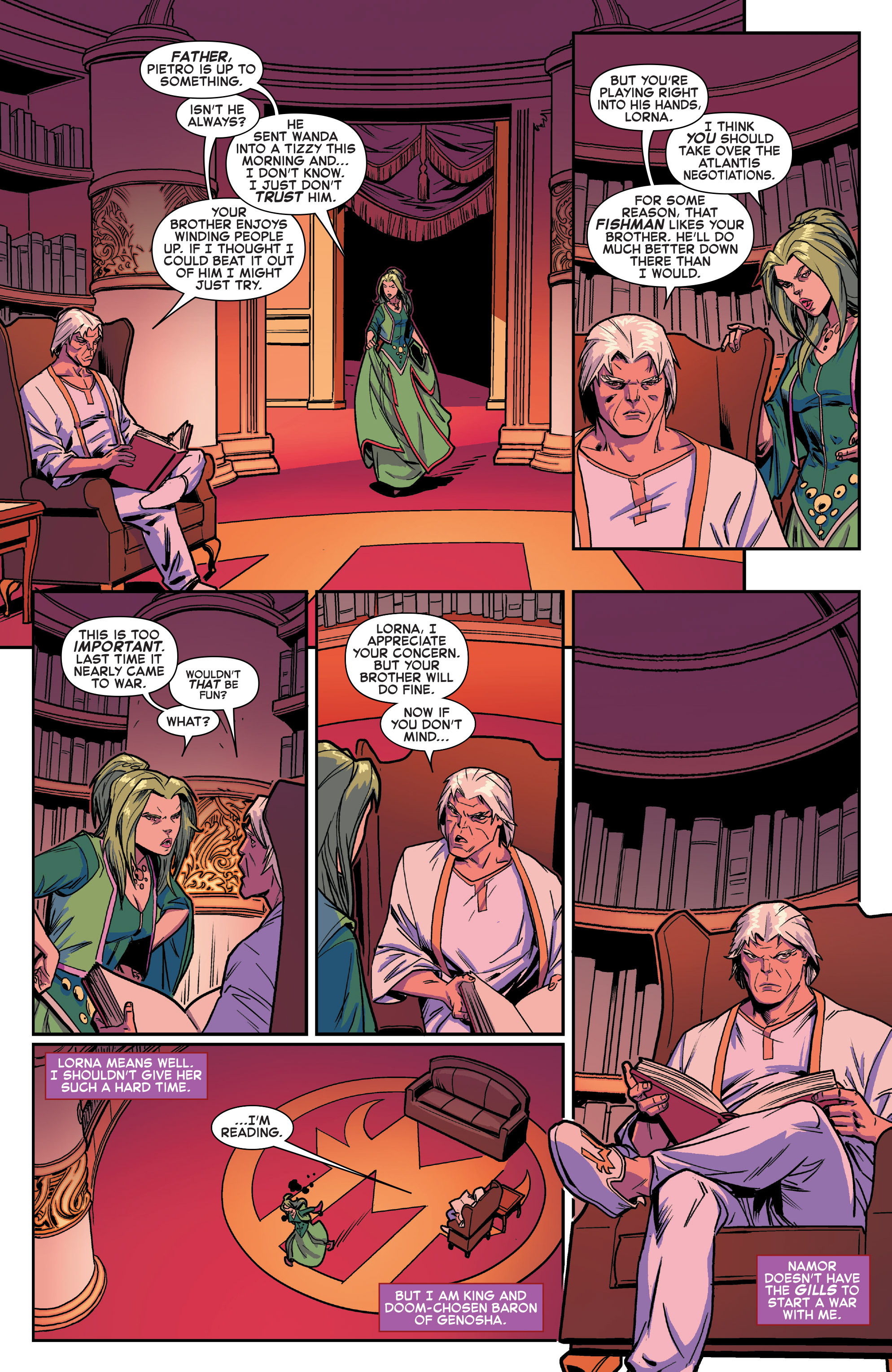 Read online House of M (2015) comic -  Issue #1 - 18