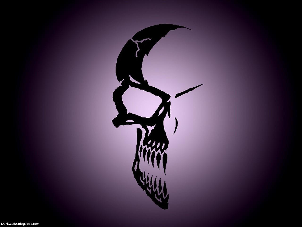 Skulls Wallpapers 45 Dark Skull Wallpaper Dark Wallpapers High