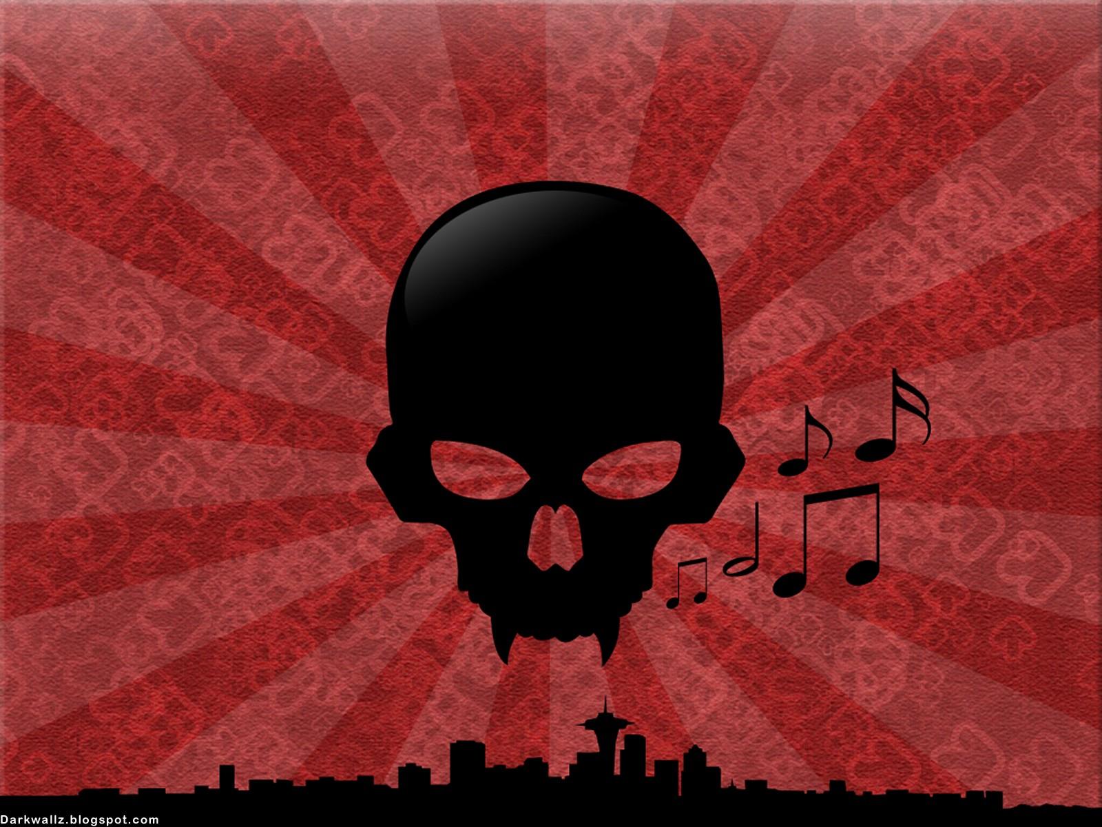 Dark Skulls Wallpapers 113 Dark Skull Wallpaper