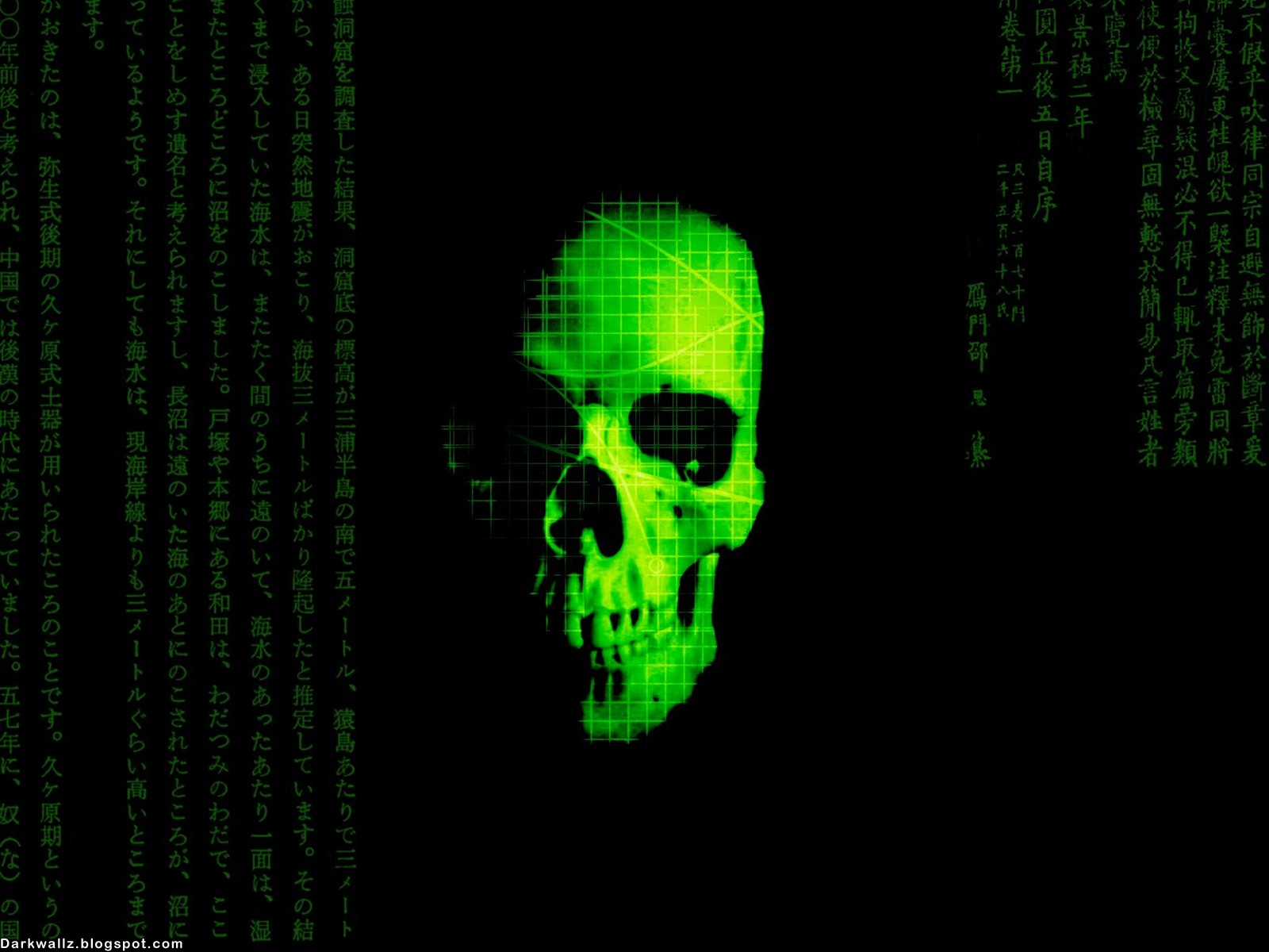 skull wallpaper for windows 7 - photo #35