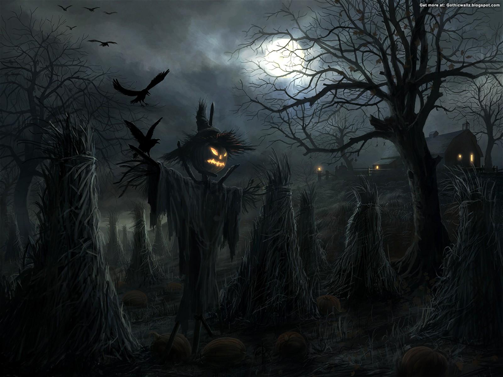 Halloween Graveyard | Best FREE Gothic Wallpaper | Dark ...