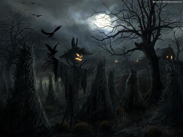 Halloween Graveyard - Dark Gothic Wallpapers Free
