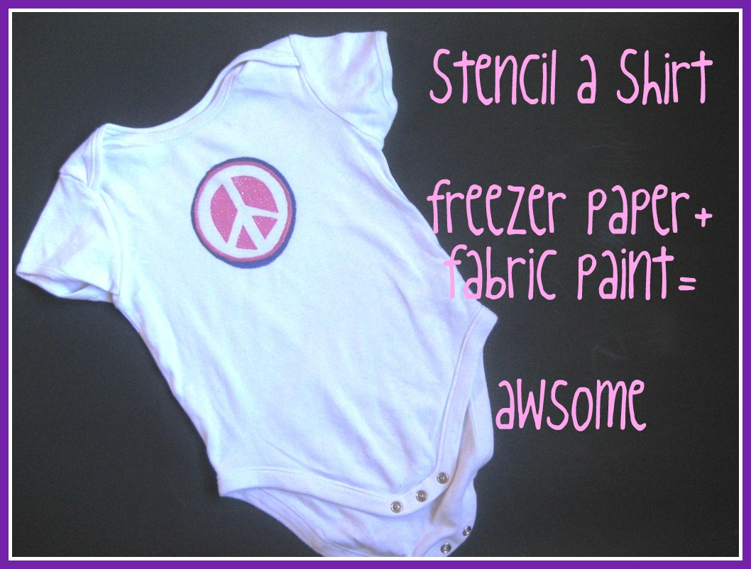 How To Make A Shirt Using Fabric Paint