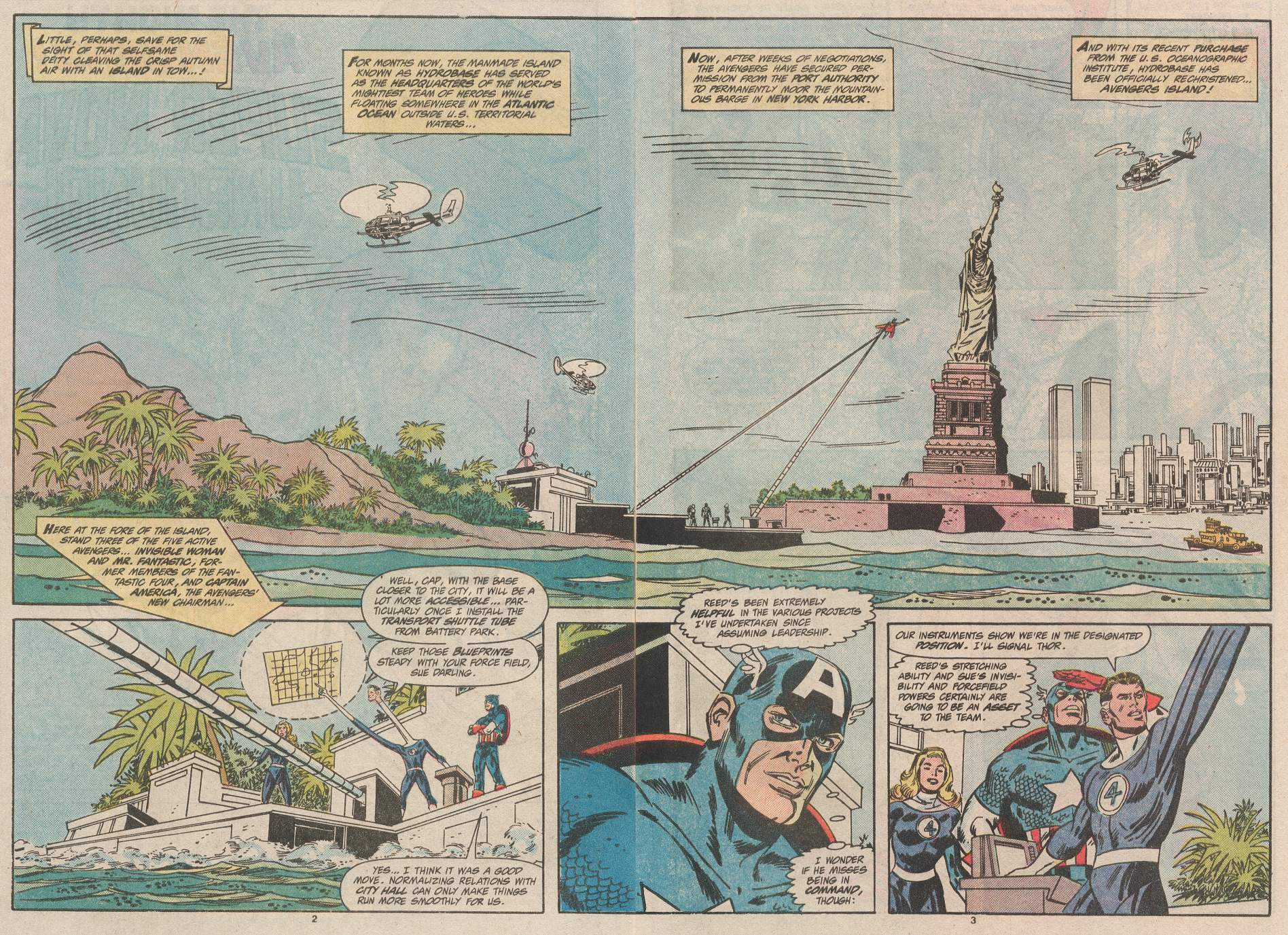 The Avengers (1963) 301 Page 2