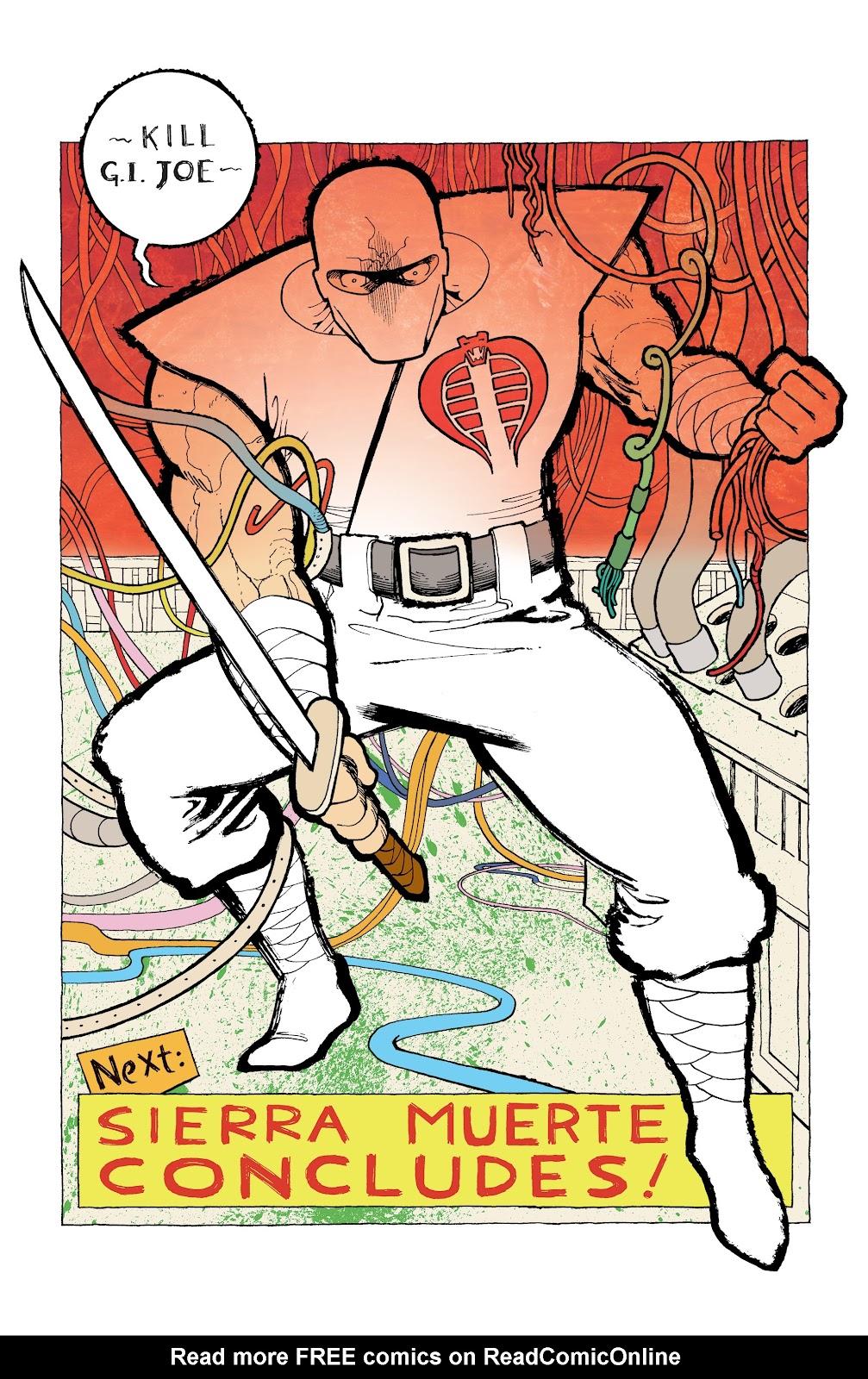 Read online G.I. Joe: Sierra Muerte comic -  Issue #2 - 26