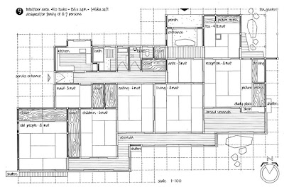 La casa giapponese moderna pianta casa giapponese for Abitazione moderna