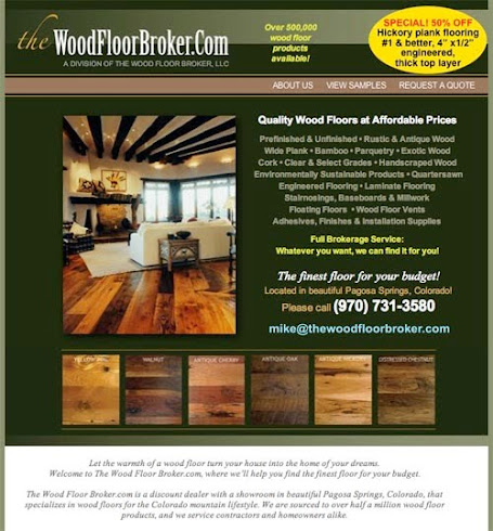 The Woodfloor Broker