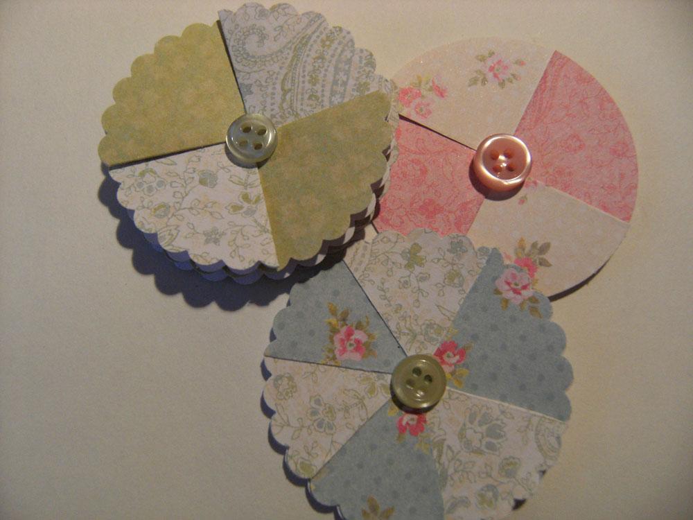 lizzie made  paper flower tutorial
