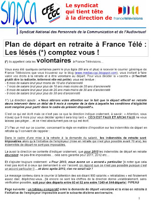 Le Blog Cgc Des Media 20 Decembre 2009