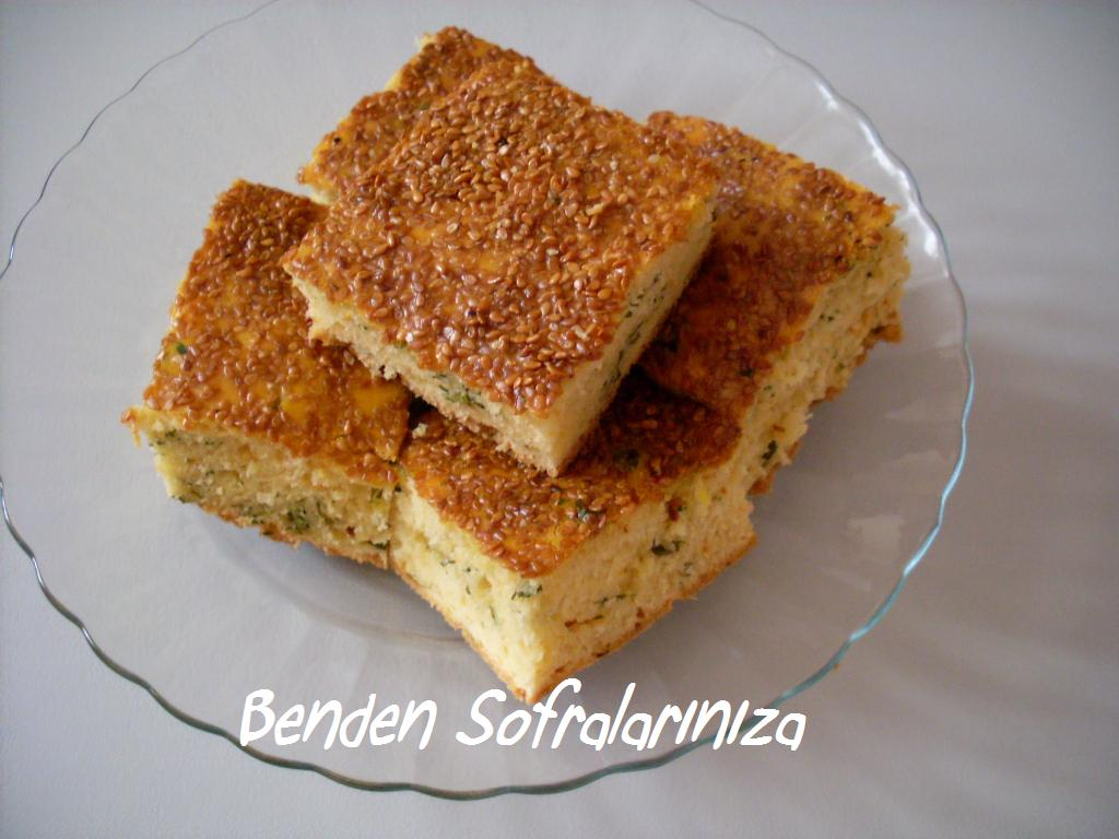 Peynirli Tepsi Poğaçası Tarifi
