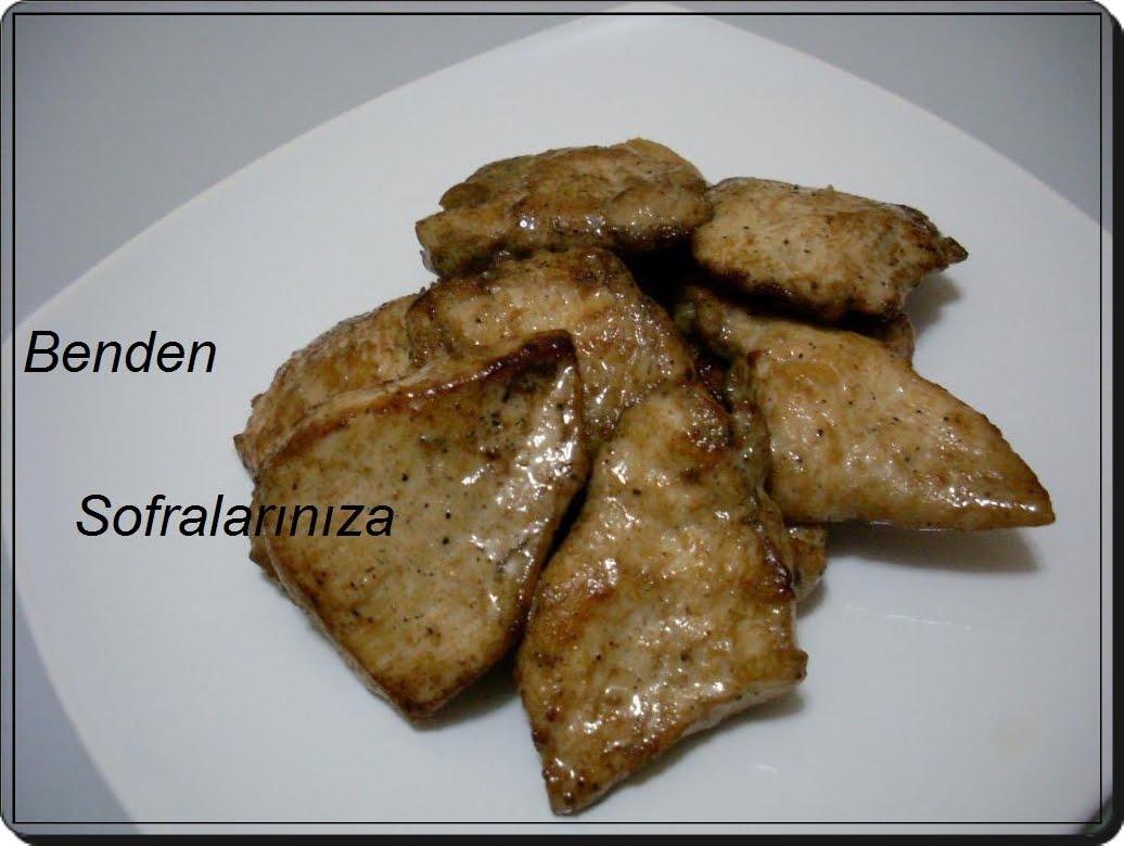 Kızartma Sebzeli Tavuk Köftesi