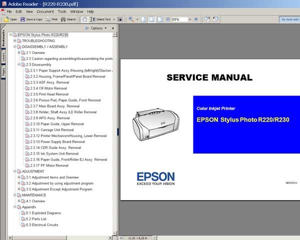 Printer Repair And Service Tools: Resetter Epson Stylus