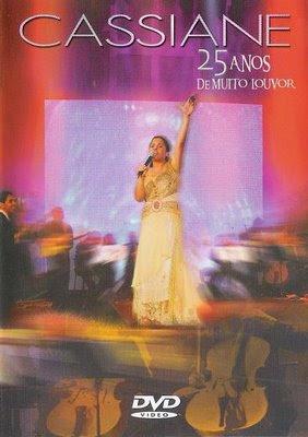 cd cassiane 25 anos audio dvd