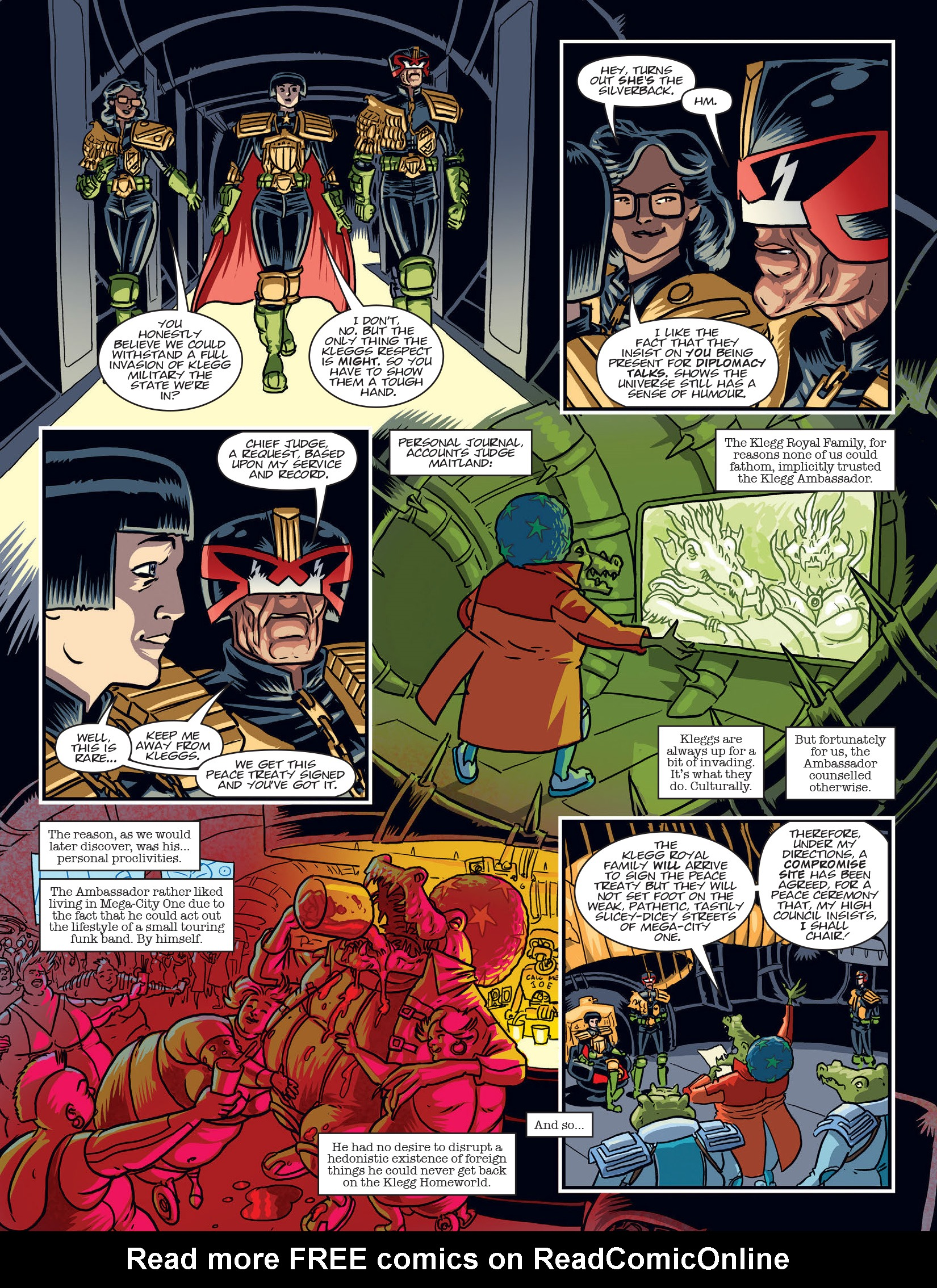 Read online 2000 AD comic -  Issue #1969 - 5