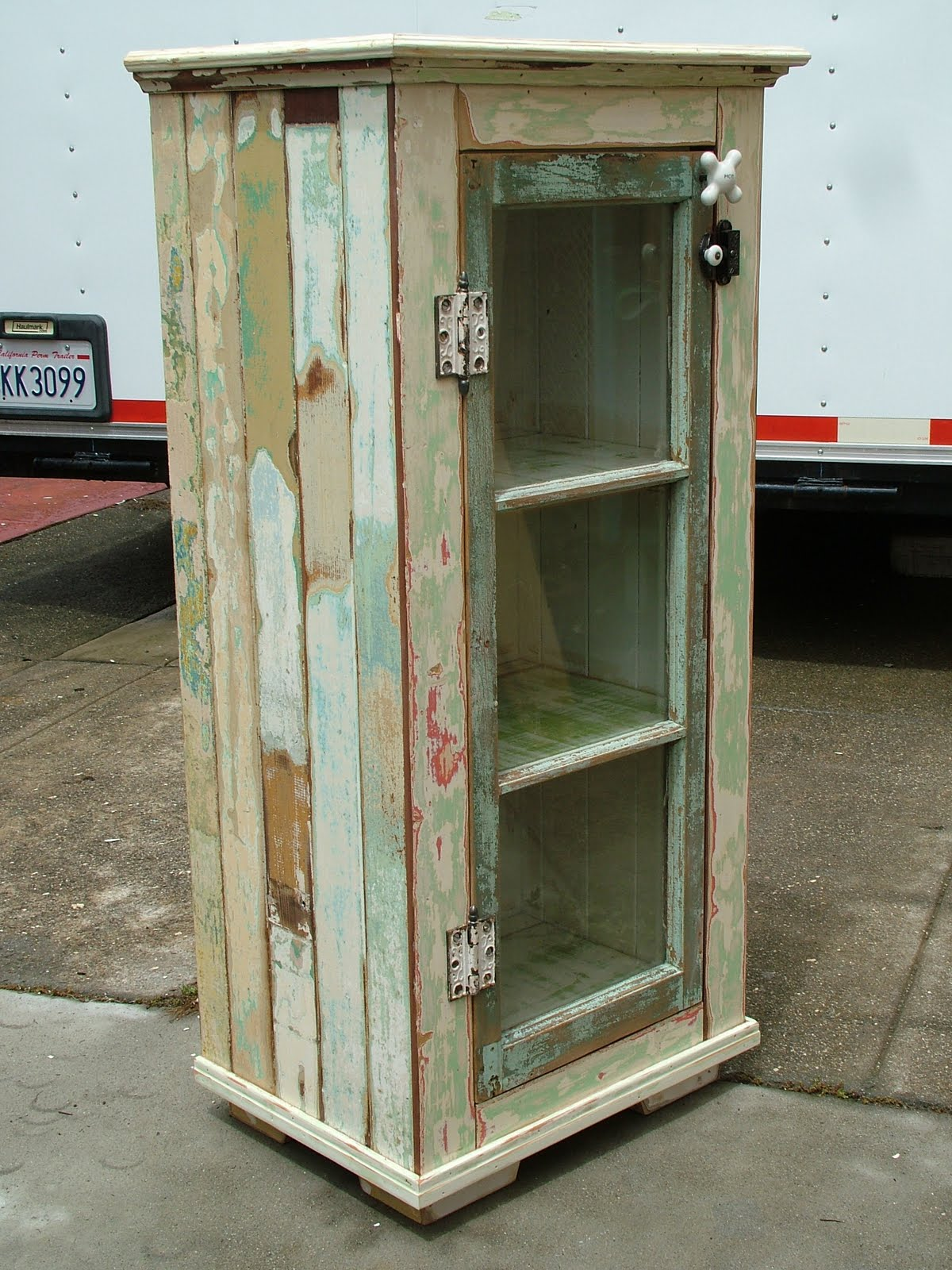 old window cabinet door