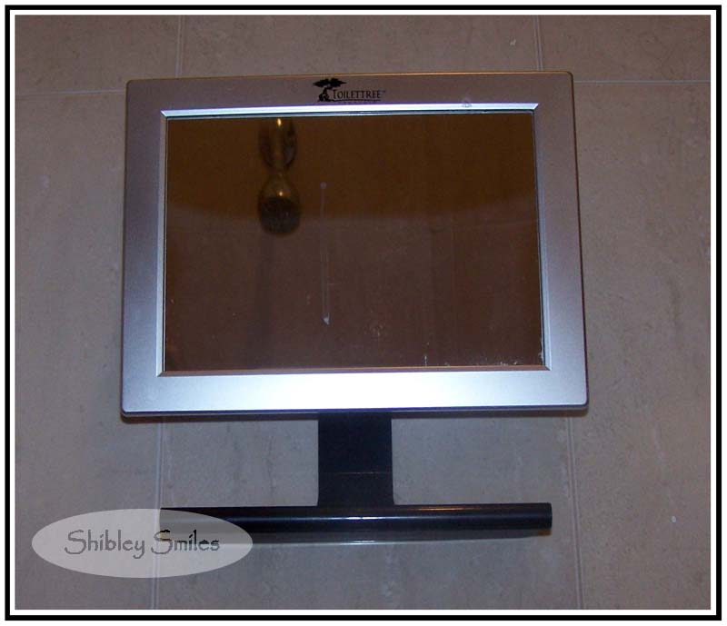 A Review For the Men: Fogless Shower Mirror with Squeegee