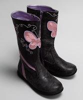 ragg purple olivia boots