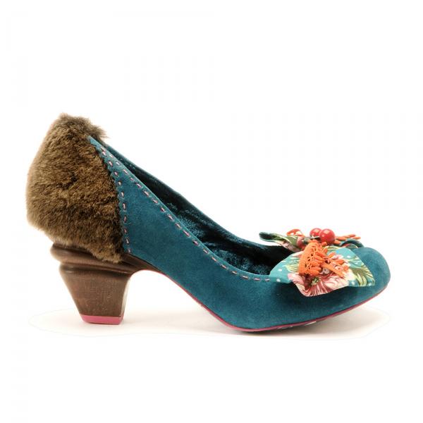Irregular Choice Navy Blue Shoes