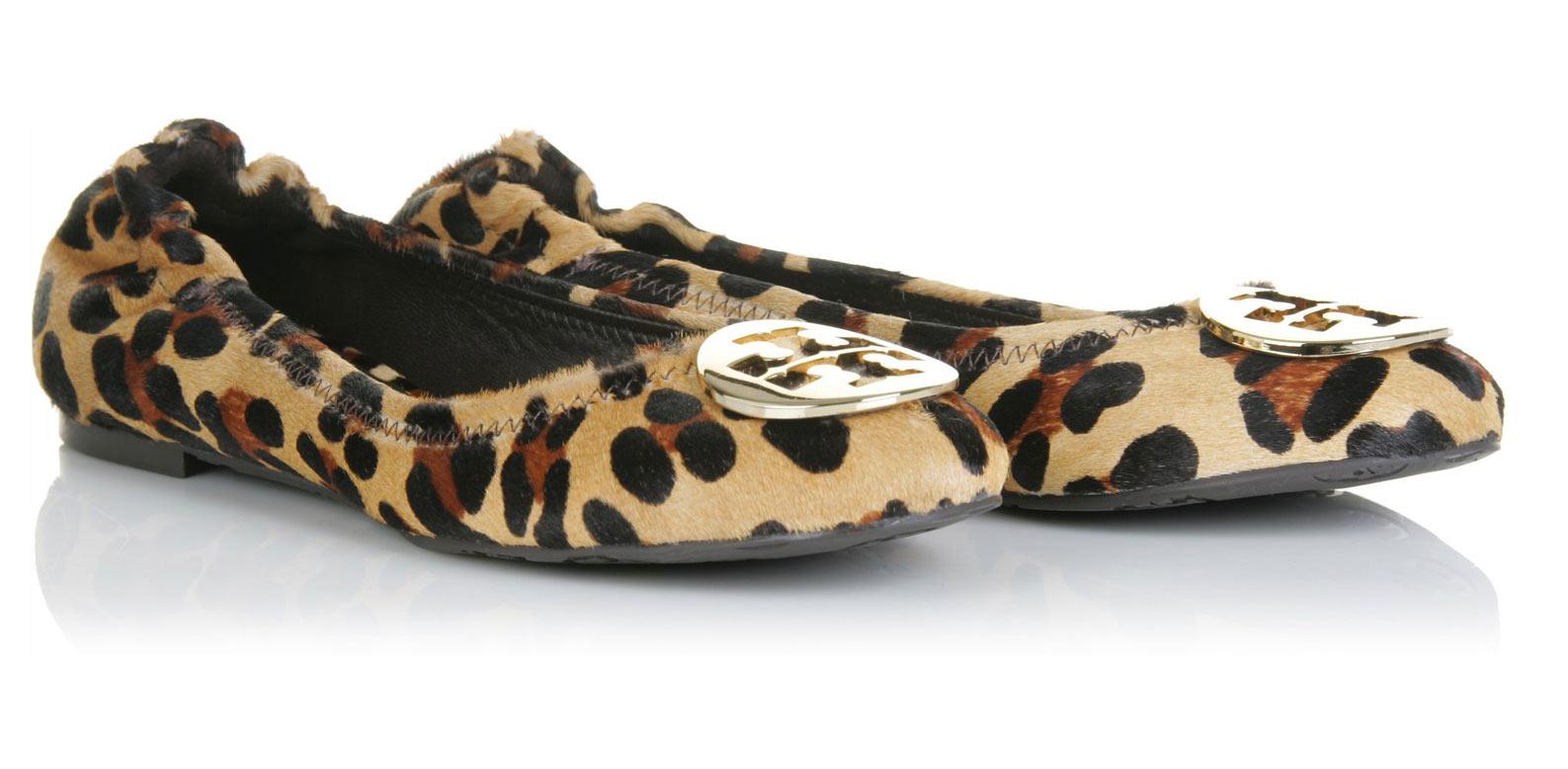 Leopard Flat Shoes