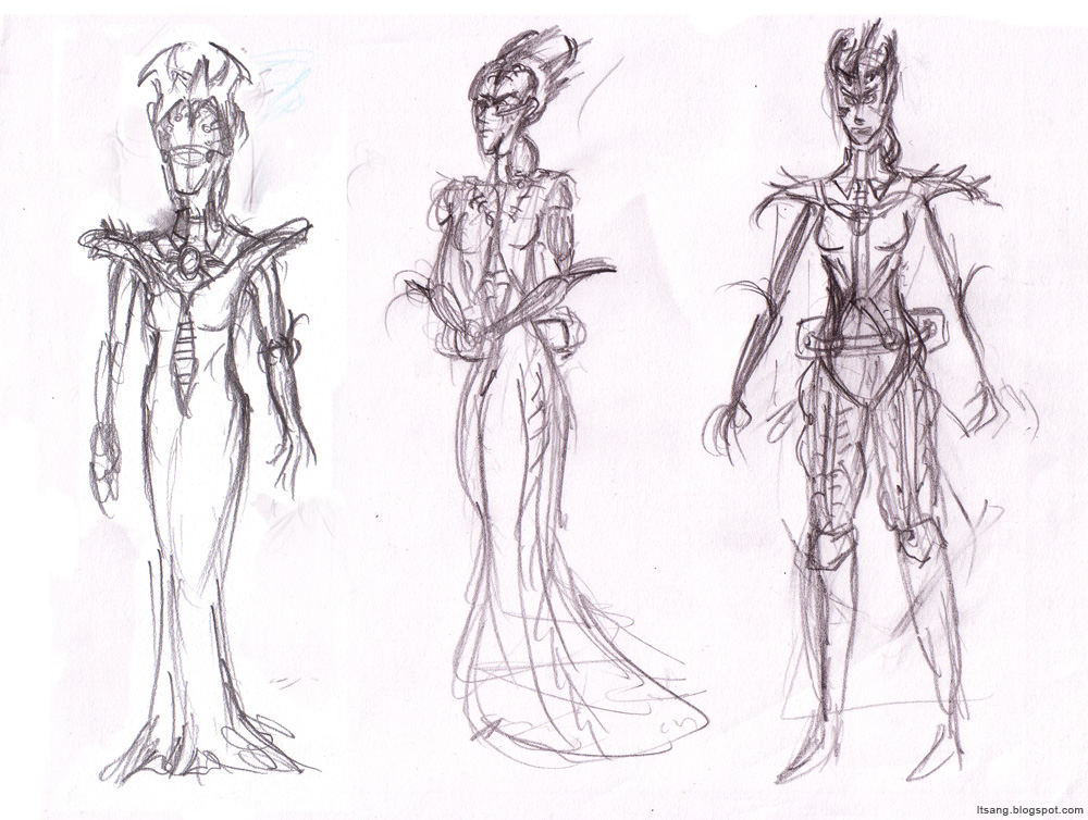Leo Tsang - CG Arts & Animation: Character Development - Empress