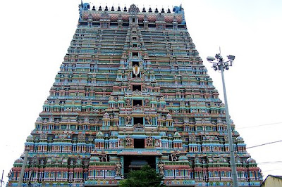 Sri Ranganathaswamy Temple in Trichy, India (Srirangam)
