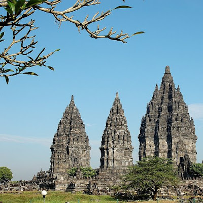 Prambanan in Central Java, Indonesia