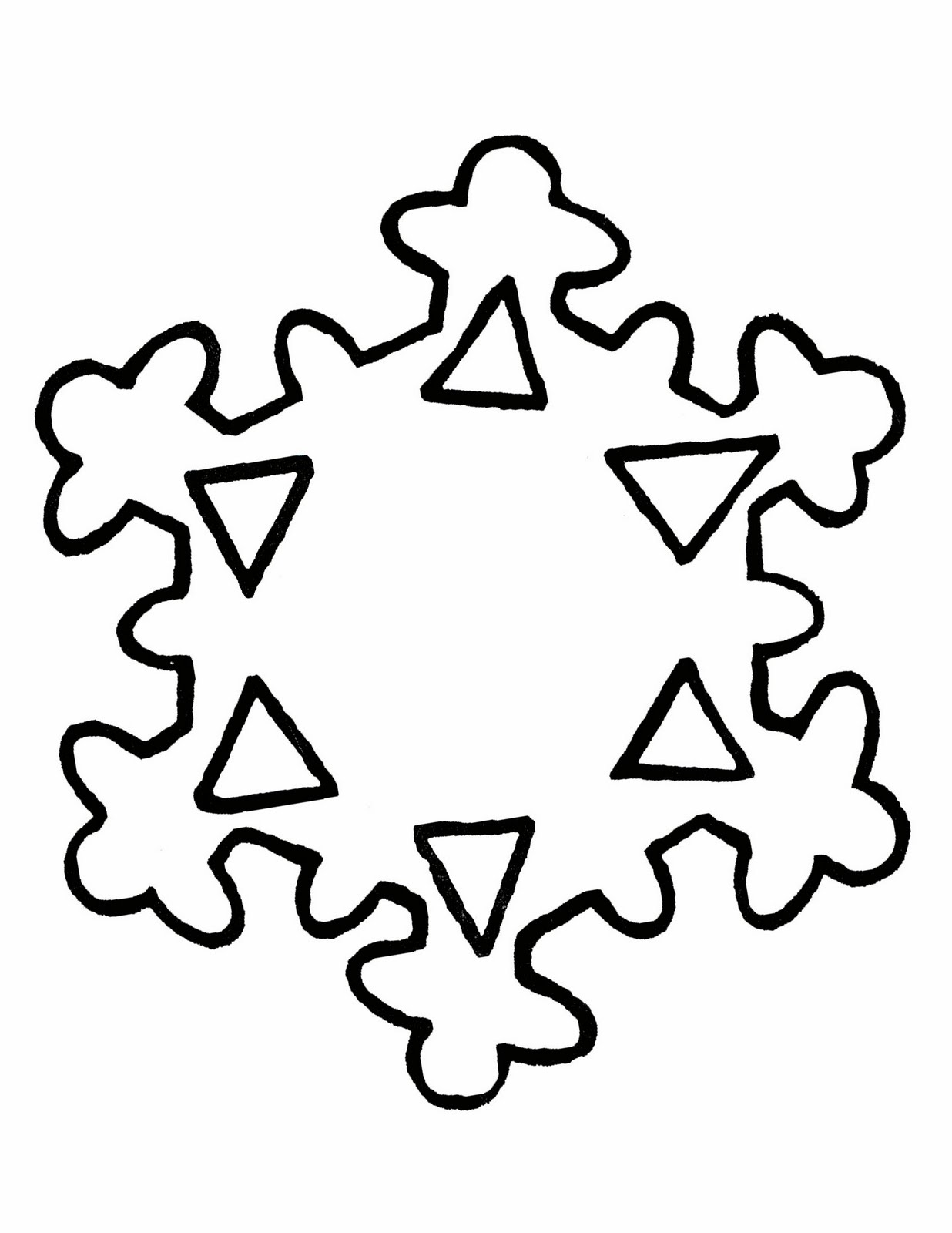 It's just a picture of Delicate Free Printable Snowflake Patterns