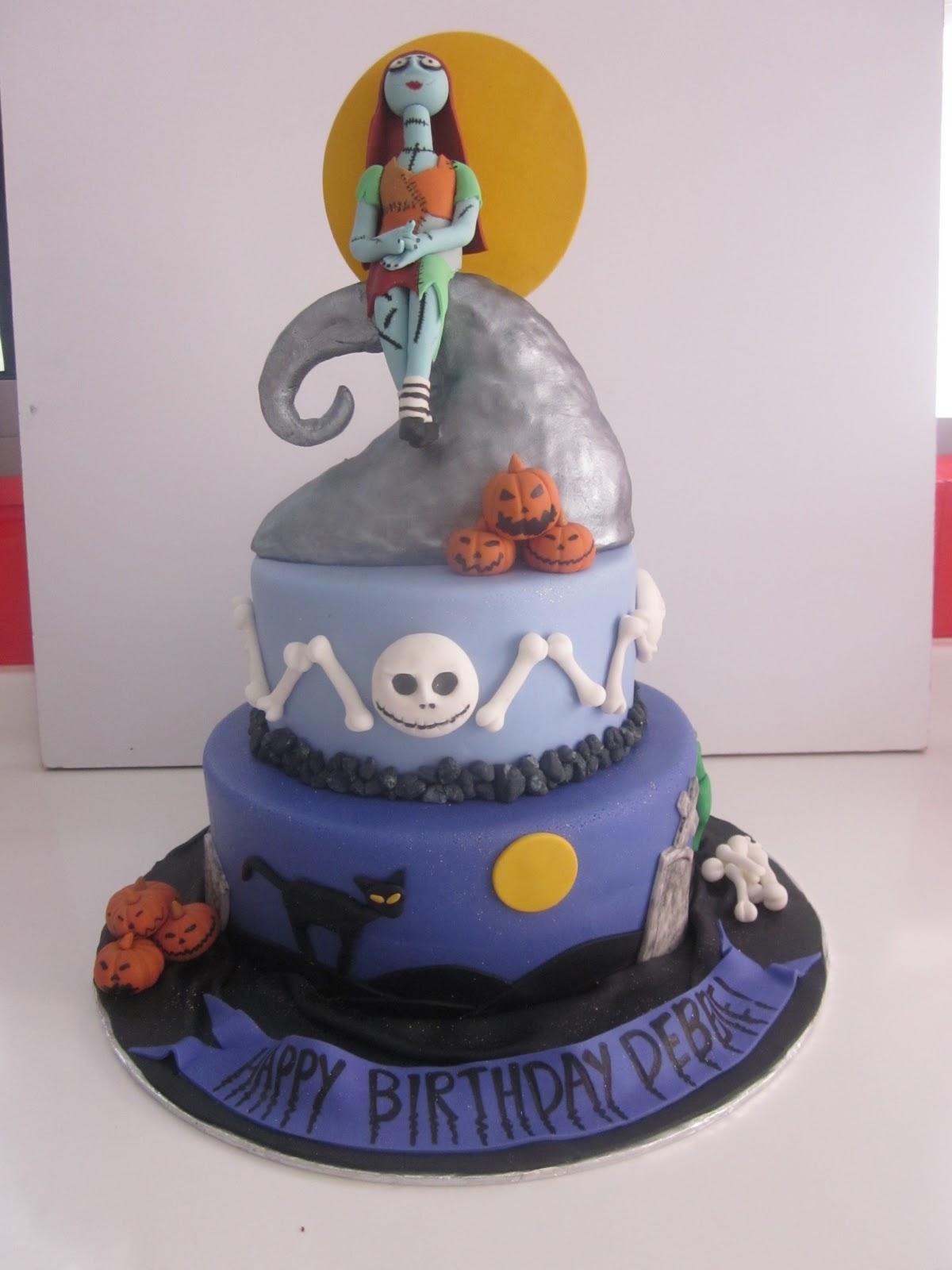 Celebrate With Cake Nightmare Before Christmas Cake