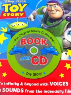 Toy story 2 play a sound book