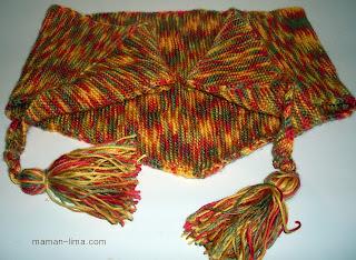 вязание бактуса