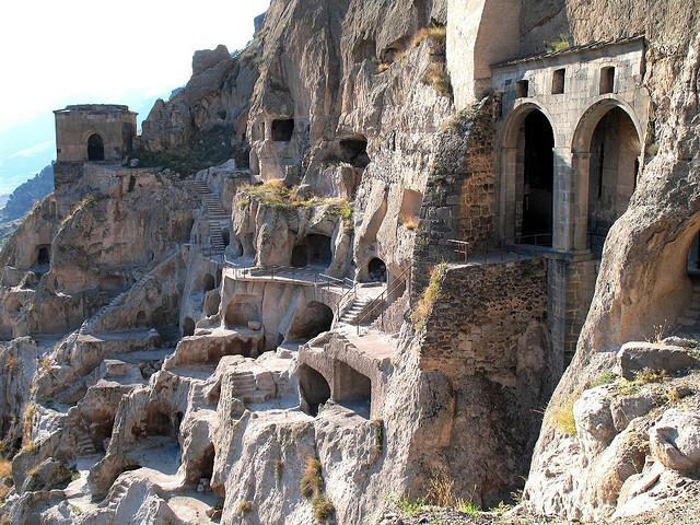 The Cave City of Vardz...