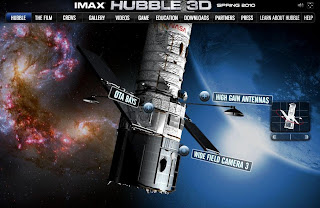 Hubble in IMAX 3D ~ My Frame of Reference