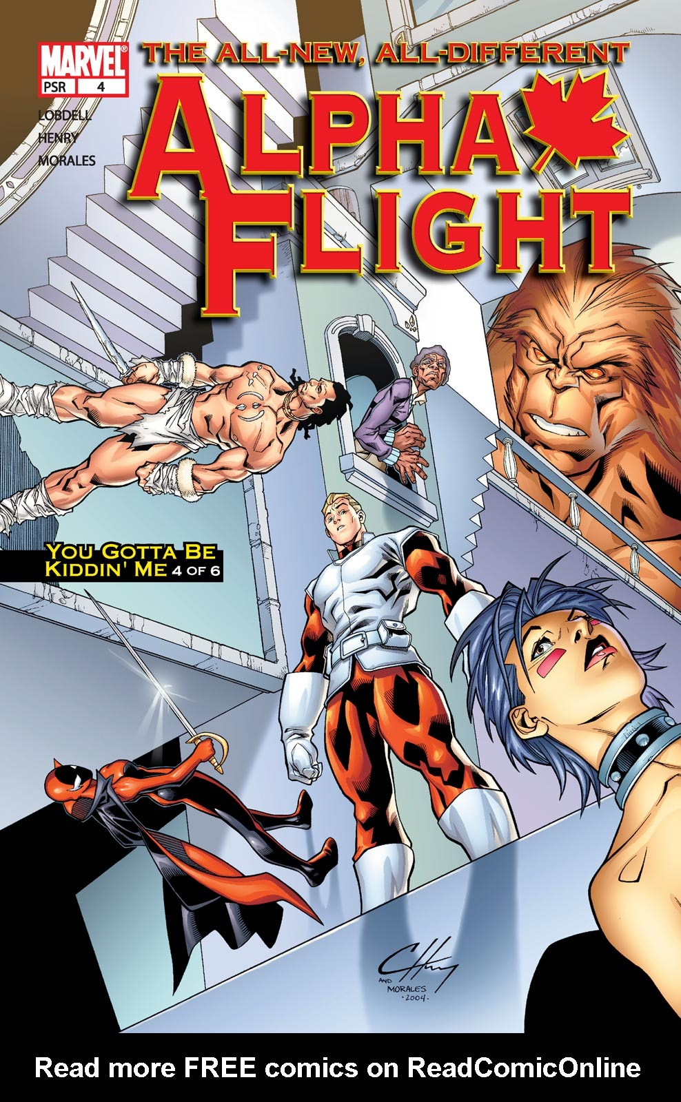 Alpha Flight (2004) issue 4 - Page 1