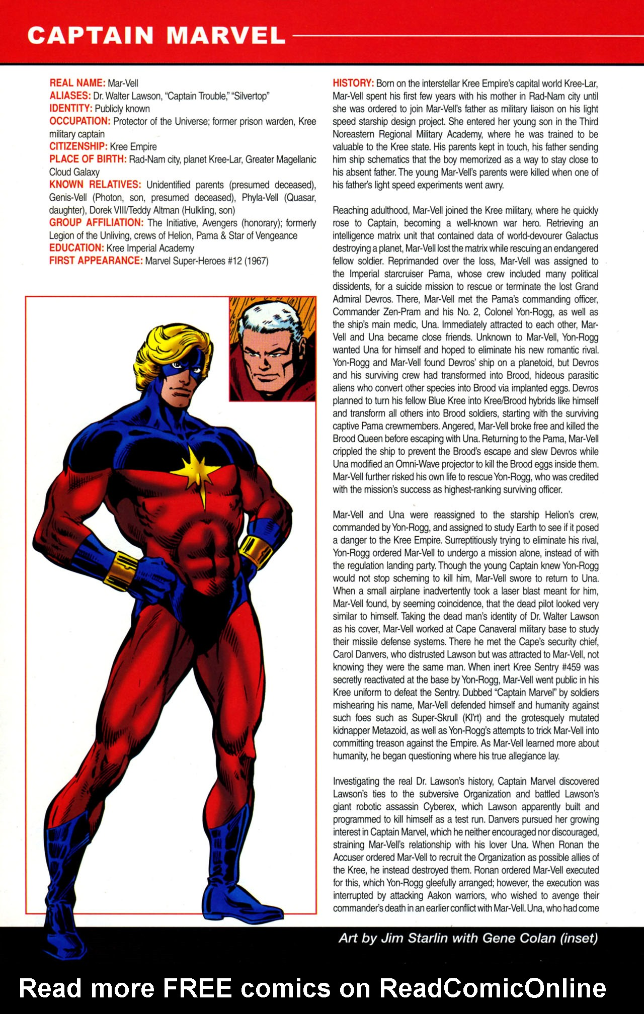 Read online All-New Official Handbook of the Marvel Universe A to Z: Update comic -  Issue #4 - 6