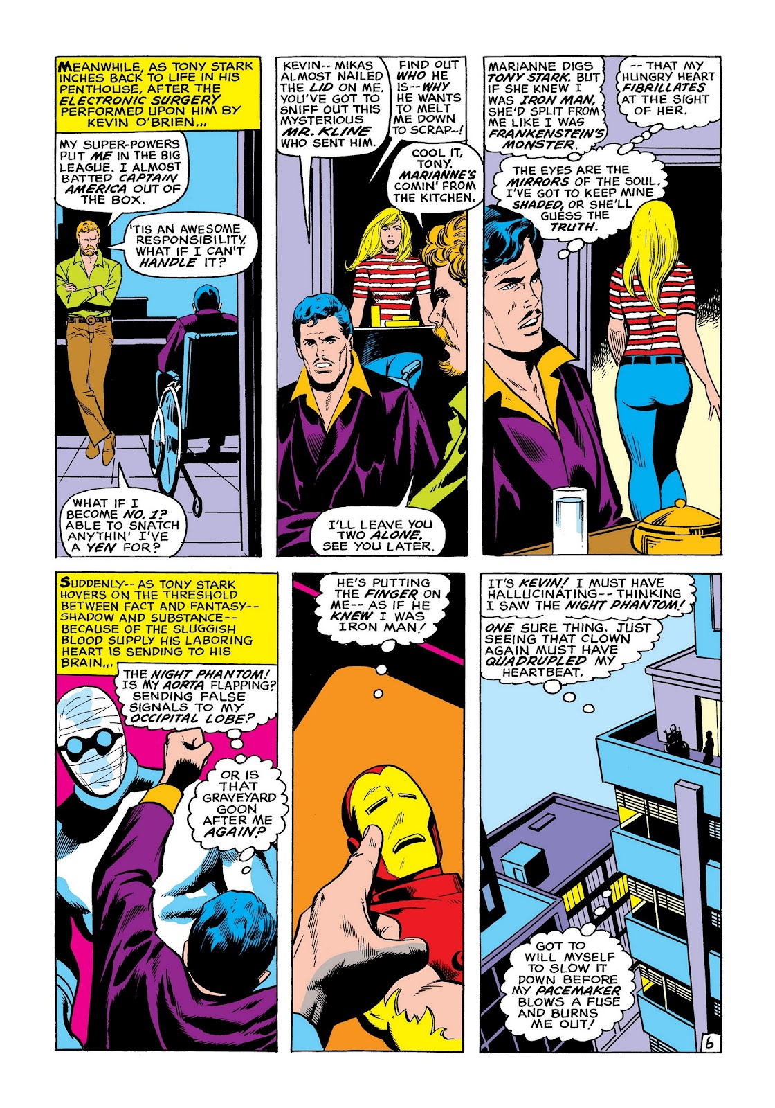 Read online Marvel Masterworks: The Invincible Iron Man comic -  Issue # TPB 8 (Part 2) - 14